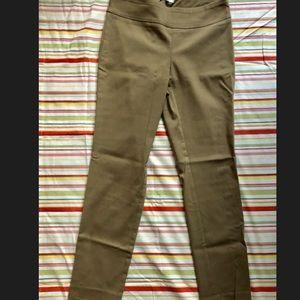 Super comfy, dark khaki pull on dress pants